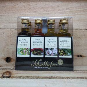 Pac olis aromatitzats 8*40ml Mallafre